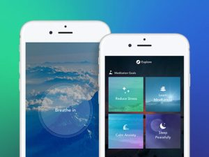 Screenshots of Aura Premium on iPhone