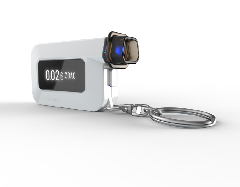 CES - BACtrack Introduces World's Smallest Police-Grade