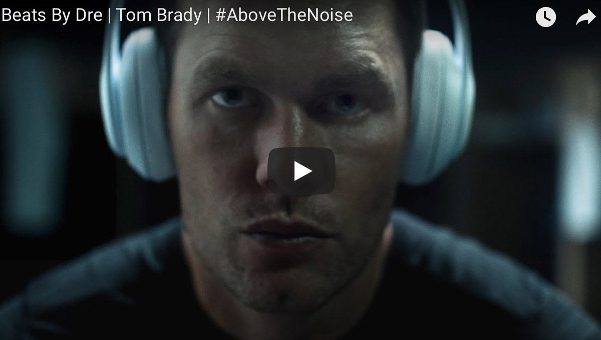 "Beats by Dre ""Above the noise"""