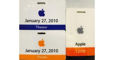 Bethany Bongiorno's Apple Badges, from a Twitter Post