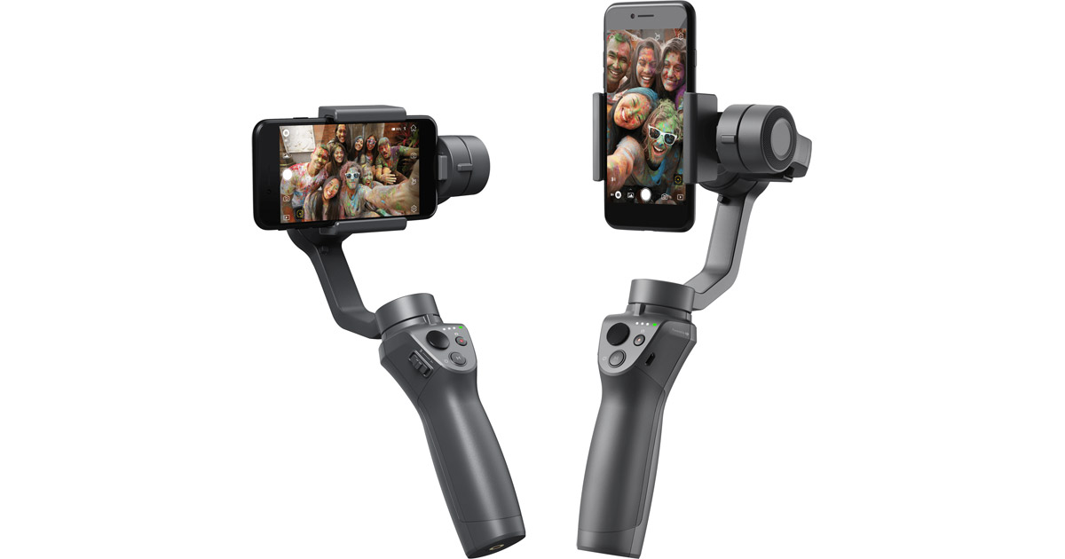 CES – DJI Osmo Mobile 2, a Handheld Video Stabilizers for Smartphones