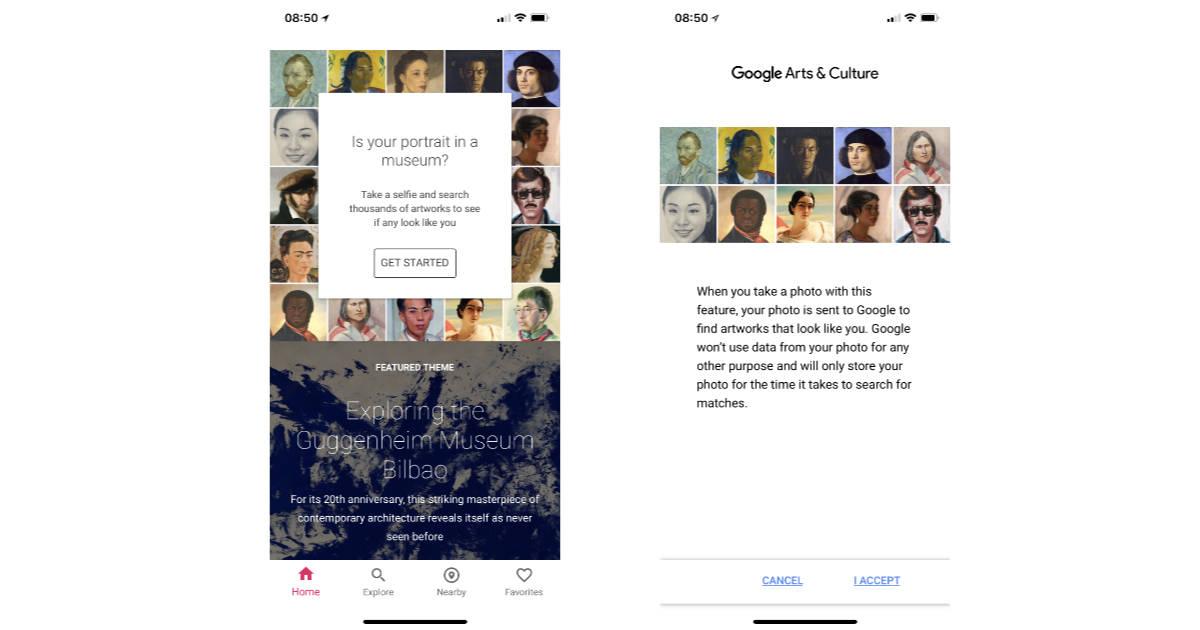 Google Arts & Culture apps searches museum portraits for your doppelgänger