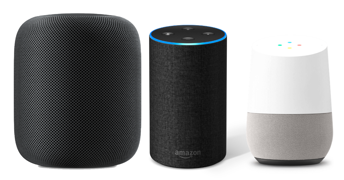 Competitors Eating Away at Amazon Echo Lead. Except Apple