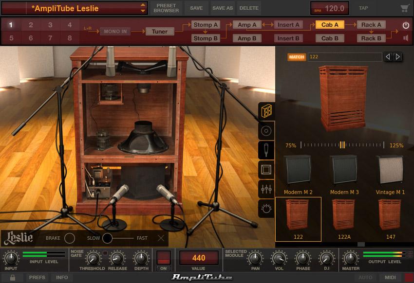 Leslie for AmpliTube