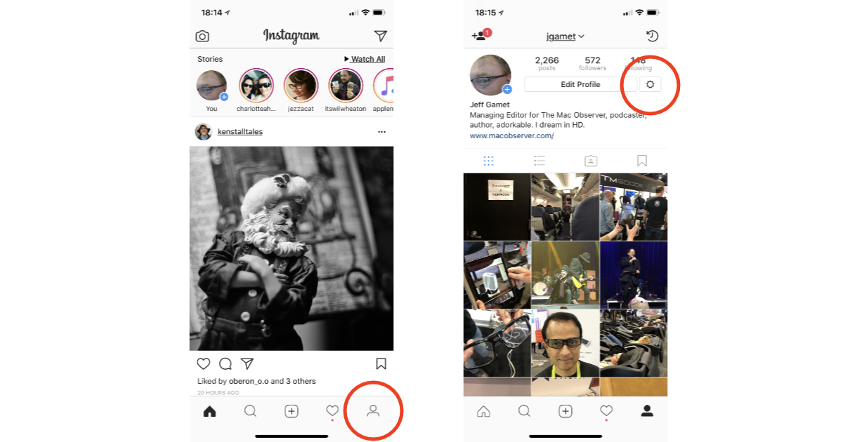 Instagram settings to disable Show Activity Status