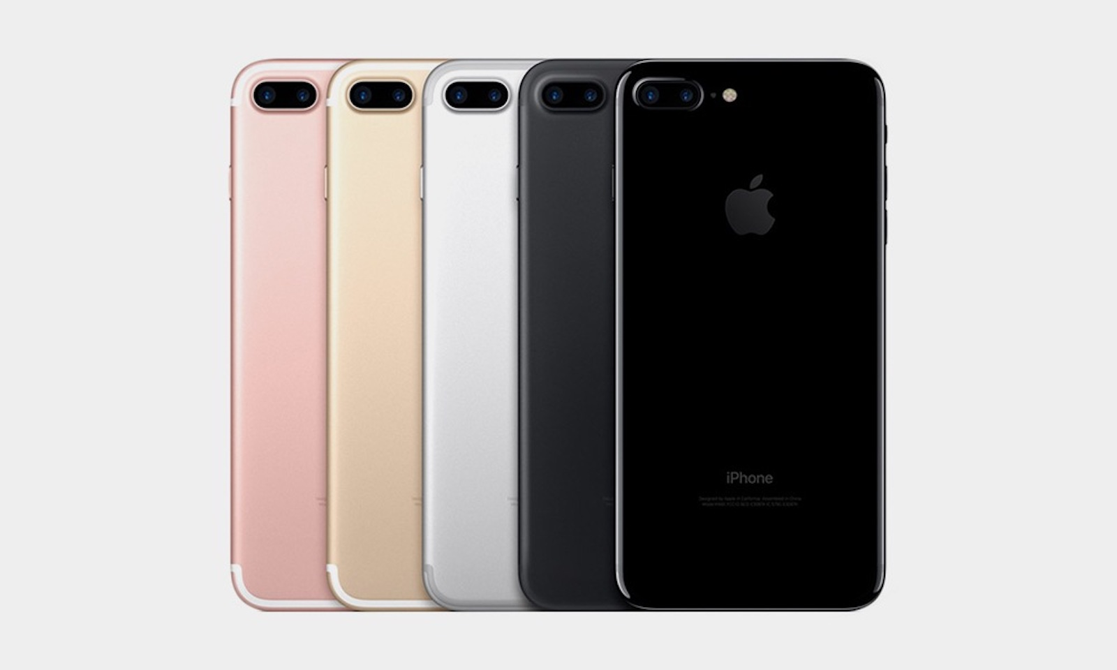 Image of iPhone 7 Plus models. Virgin Mobile is selling used iPhone 7 and iPhone 7 Plus models.