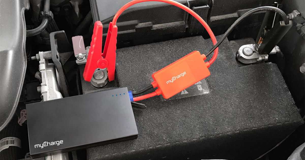 MyCharge's AdventureJumpStart Will Charge Your iPhone or Jump Start Your Car – Really