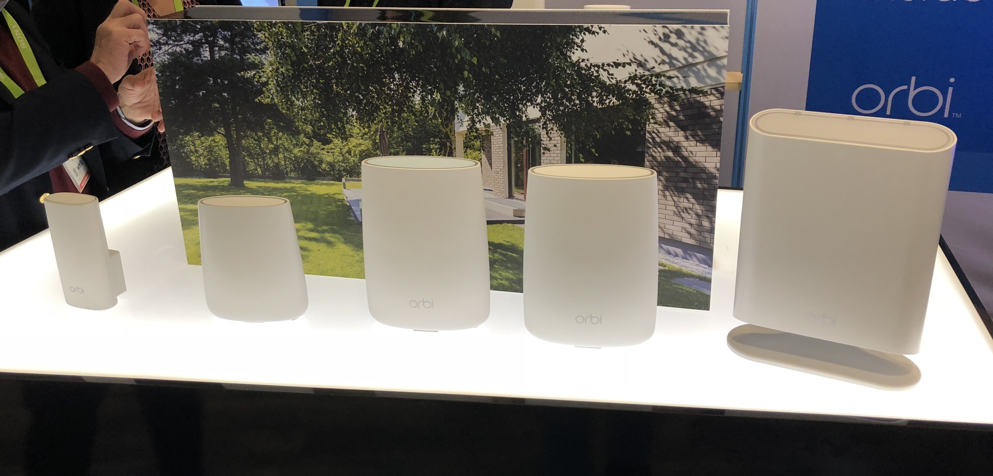 CES – Netgear adds Waterproof Orbi Outdoor Satellite RBS50Y
