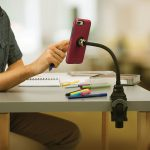 CES – Nite Ize iPhone Stand Marries a Magnetic Holder to a Bendable Arm and Clamp