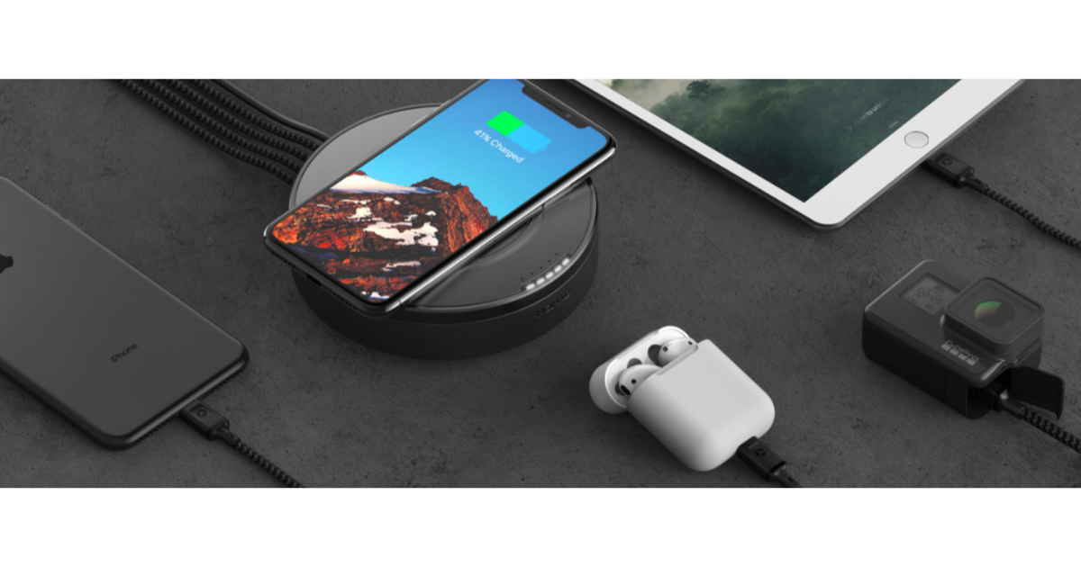 NOMAD Intros Wireless Charging Hub with Extra USB-A and USB-C Ports