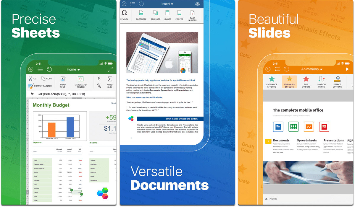 iOS Deal: Today-Only Get OfficeSuite PRO for Free