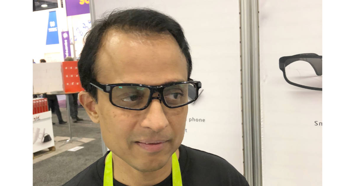 CES – DynaFocals Smart Glasses Give Your Progressive Lenses Auto-focus