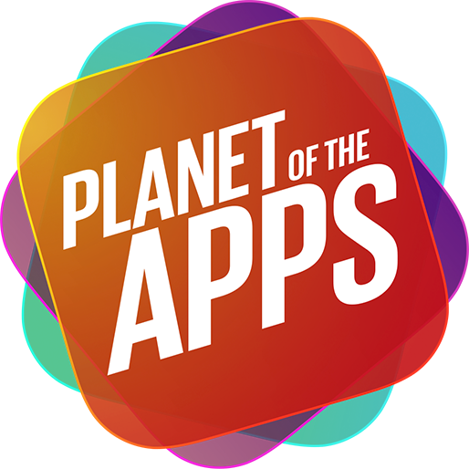 Apple TV Guide: Planet of the Apps logo.