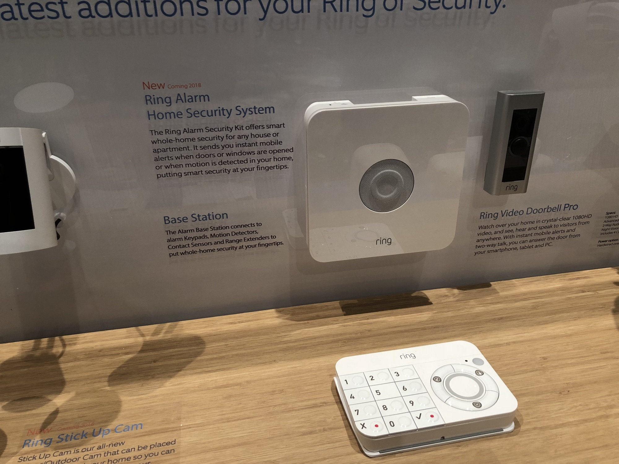 Ces Ring Alarm Home Security System Coming In 2018 The