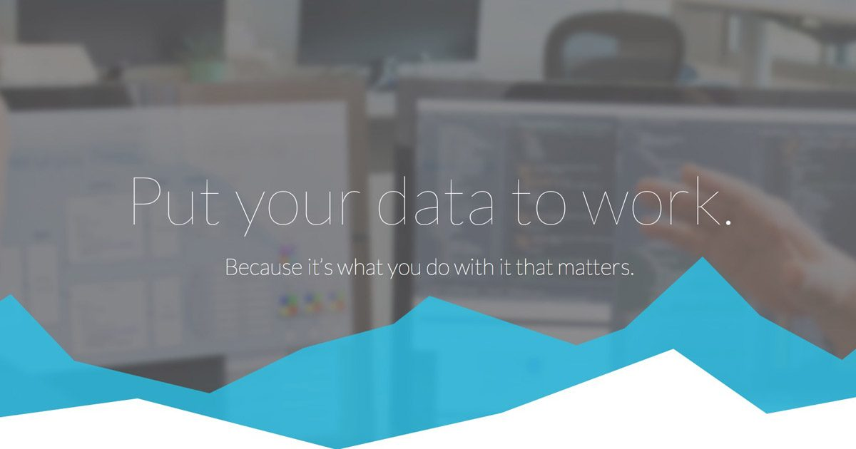 Silicon Valley Data Science Home Page Screenshot