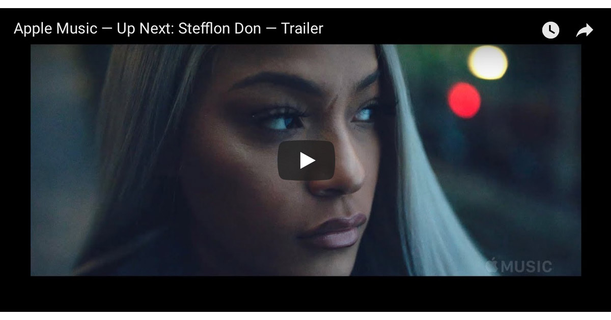 Stefflon Don documentary screenshot