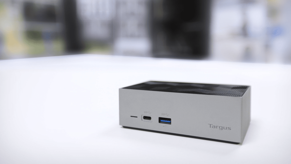 Targus docking station that boasts dual-video 4K support.