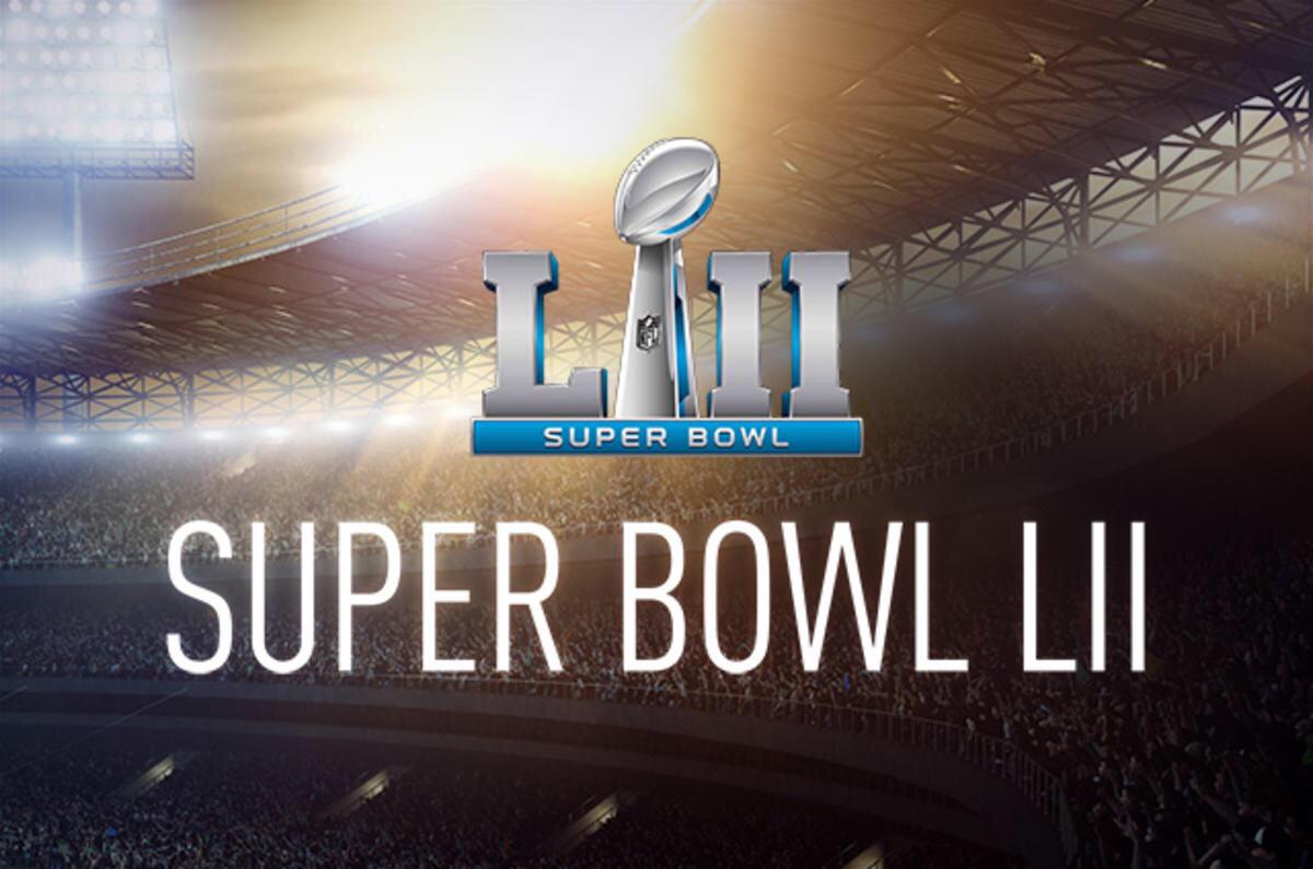 Image of Super Bowl LII Logo.
