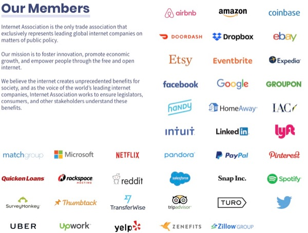 Internet Association members.
