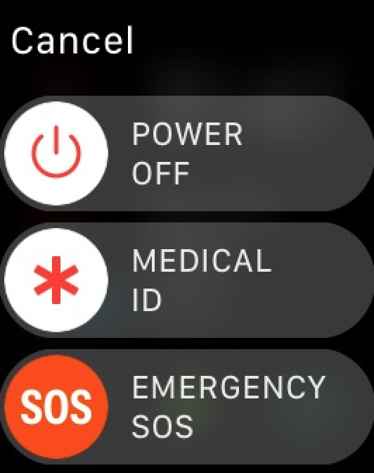 Power Off Apple Watch to restart problem apps