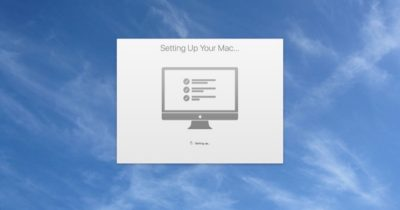 Setting up macOS