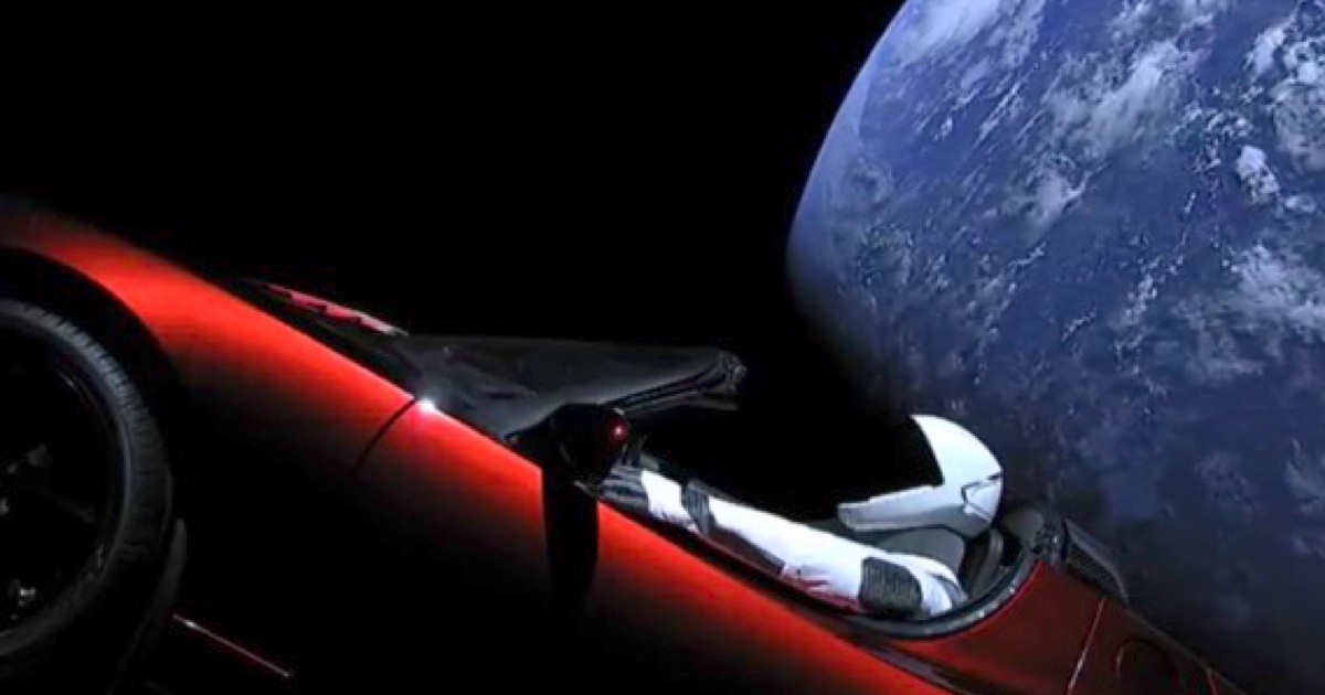 Track the Position of Elon Musk's Tesla Roadster with Starman