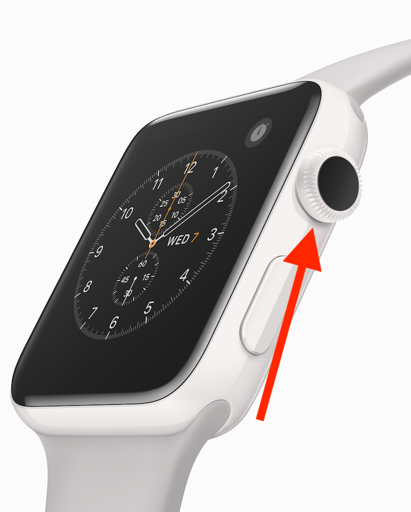 Digital Crown on Apple Watch is step two in force quitting apps
