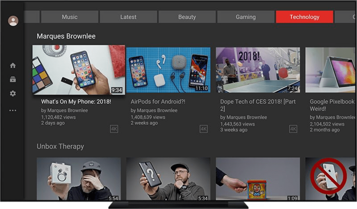 The YouTube Apple TV App Just Got a Huge Redesign