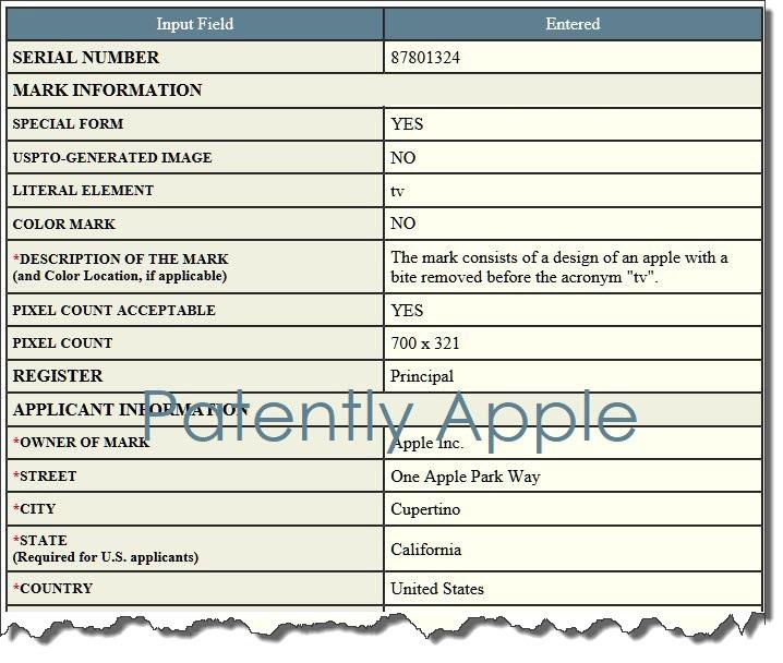 Image of Apple TV gaming patent.