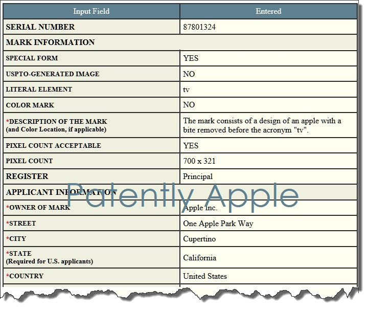 Image of Apple TV gaming patent.