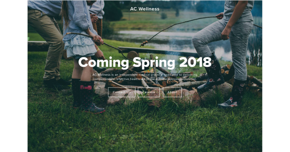 Apple AC Wellness health care program