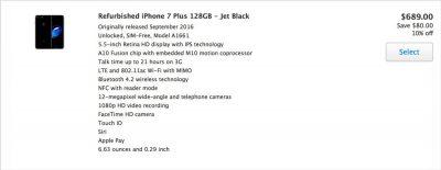 iPhone 7 Refurb