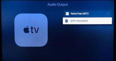 Audio Output device list on Apple TV