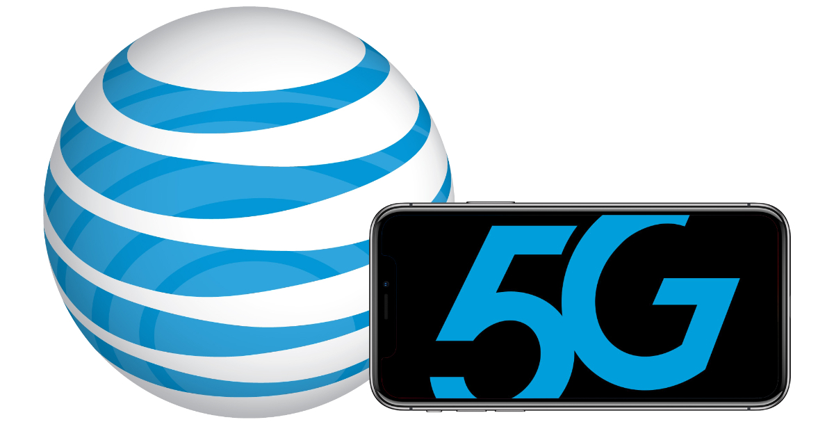 AT&T 5G wireless network