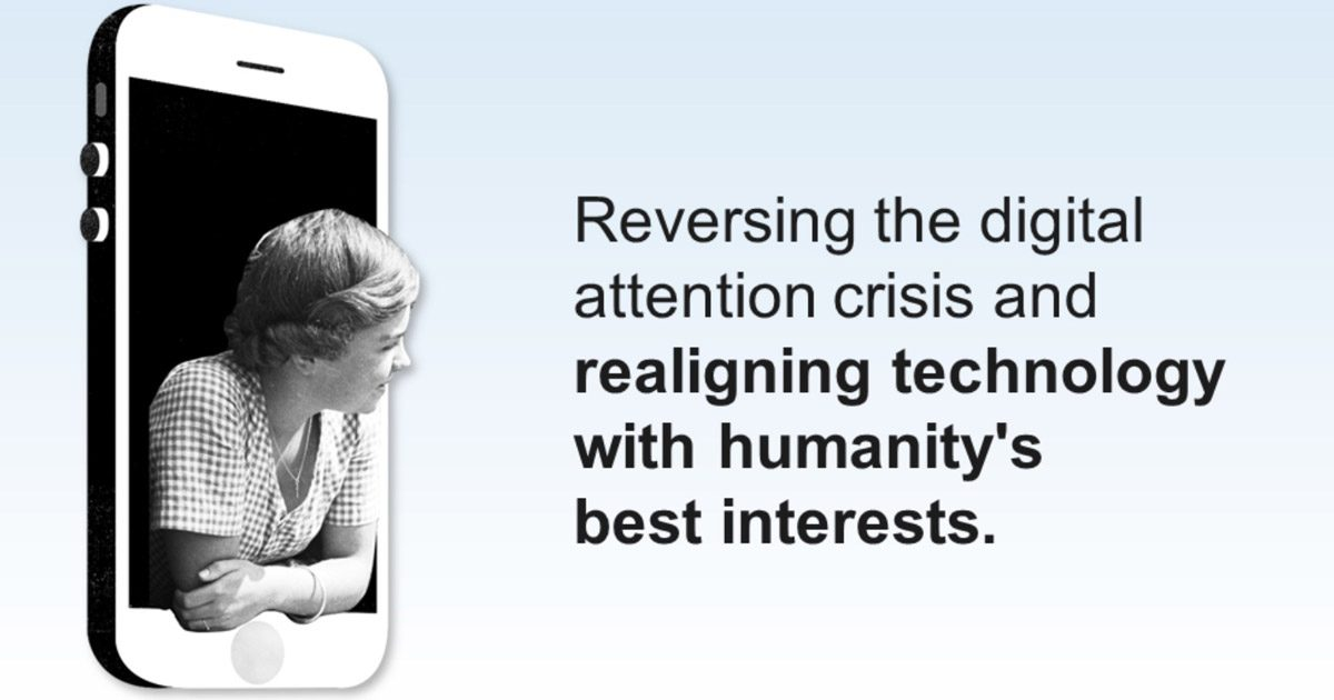 Messaging from The Center for Humane Technology
