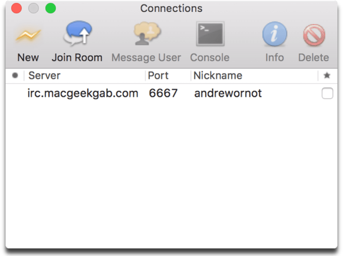Need a Mac IRC Client? Here are 3 You Can Use - The Mac Observer