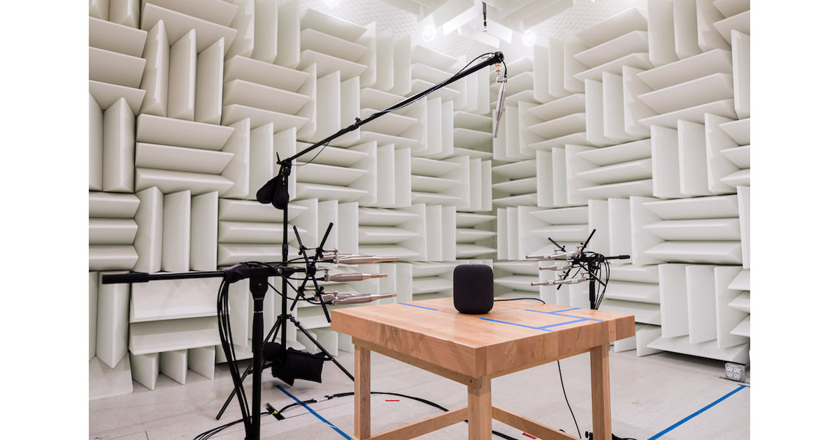 Jim Dalrymple's Tour of Apple's HomePod Audio Lab: Materials, Custom Rooms, and More