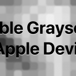 Enable Grayscale on Apple Devices to Save Battery and Your Eyesight