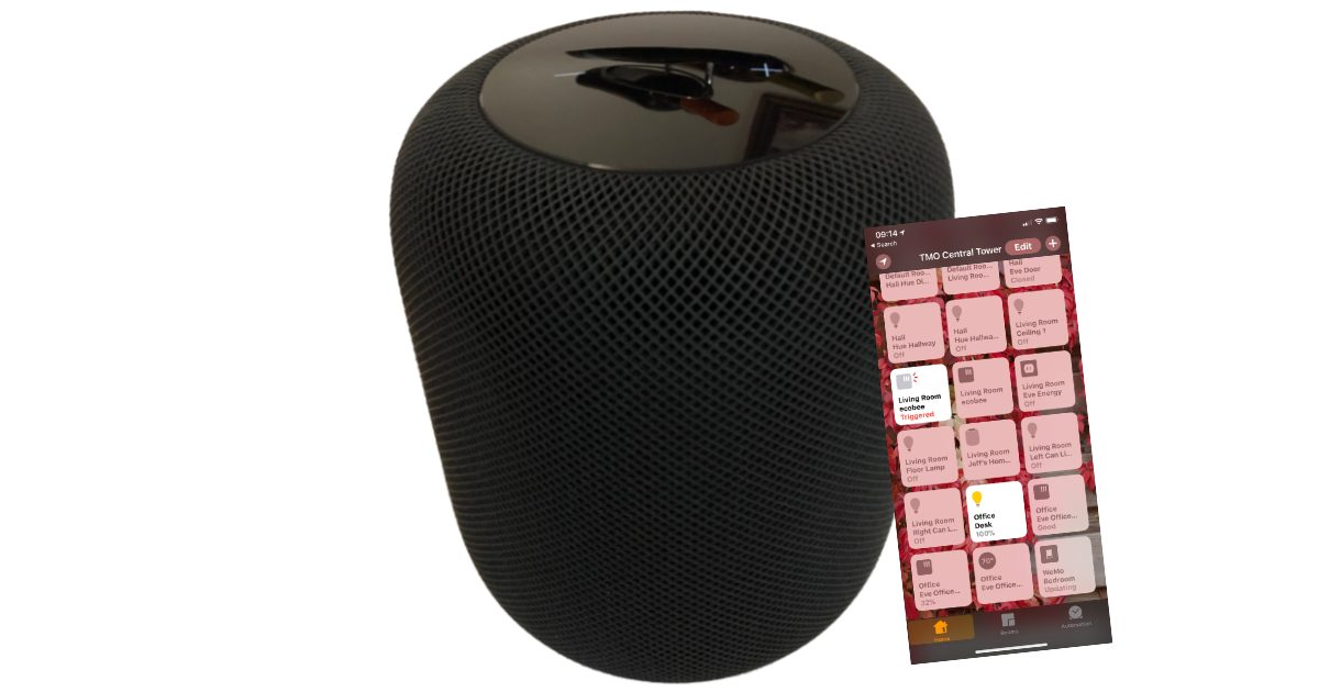 HomePod with HomeKit app for Home Automation