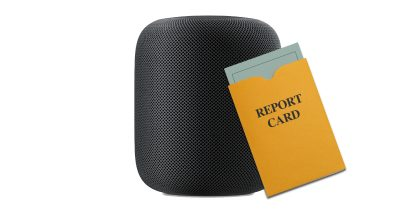 HomePod and report card
