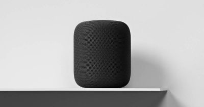 HomePod on a shelf too close to the wall