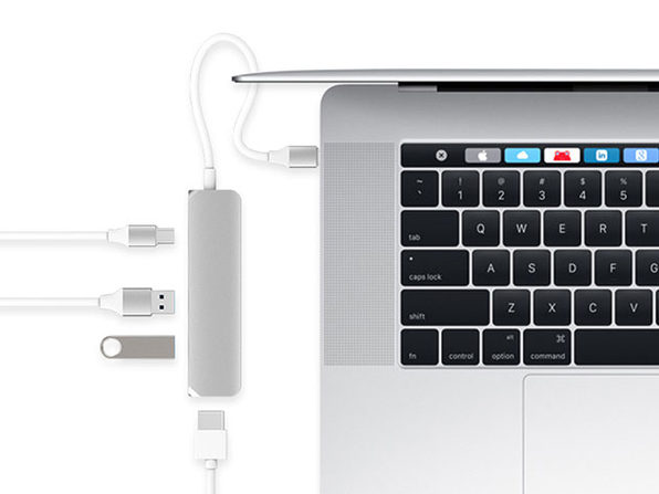 HyperDrive USB-C Hub with 4K HDMI Support: $44.99