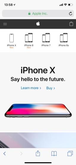 iOS Safari & Apple.