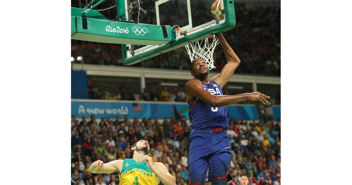 Kevin Durant Doing His Thing