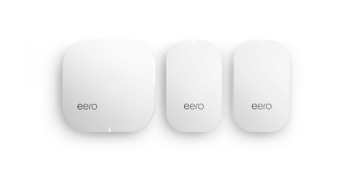 My home mesh is made up of an Eero gateway and two Eero beacons.
