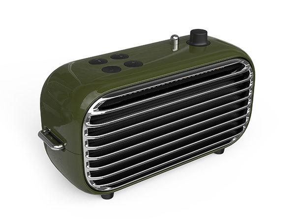 Lofree Poison, a Nostalgic Powerful Wireless Speaker: $79.99