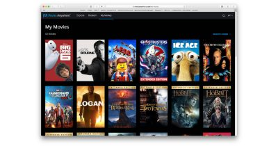 Movies Anywhere streaming movie purchase consolidation platform
