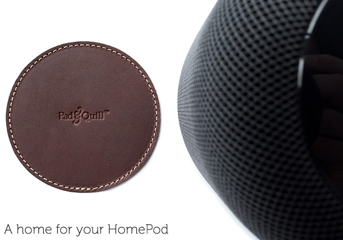 Worried about HomePod Leaving a Ring? Pad & Quill Has a Coaster for That