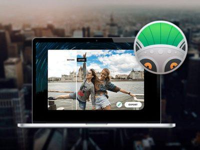 Photolemur Spectre on a MacBook