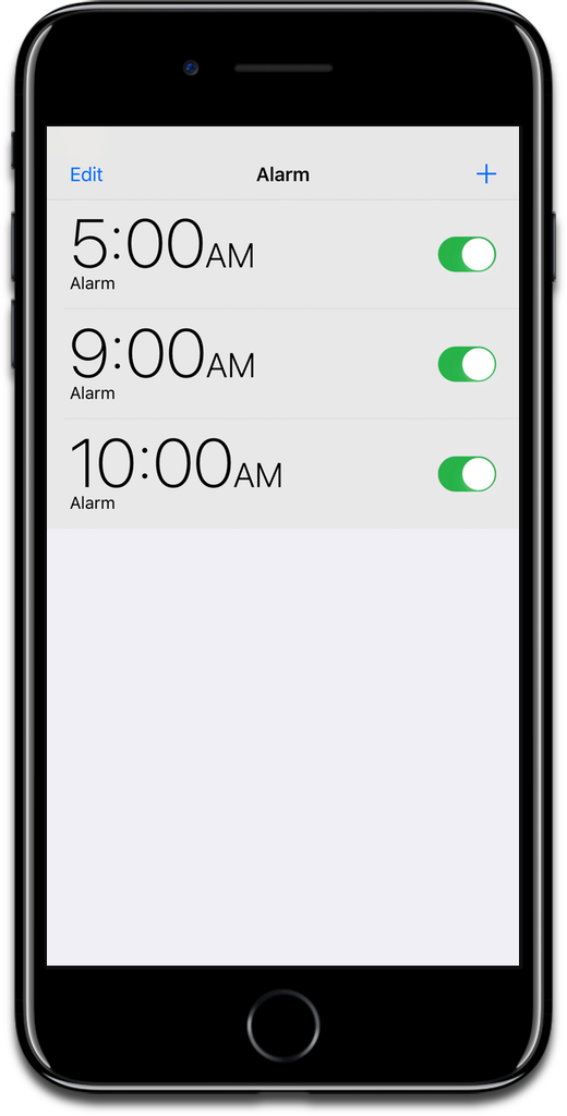 You can set alarms on HomePod with Siri or the Home app.